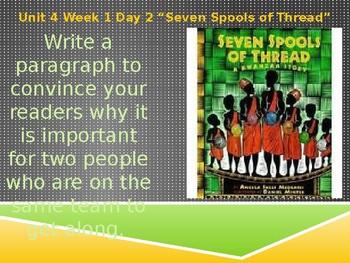Daily Writing Prompts Treasures U4W1