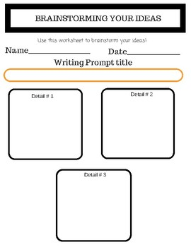 Daily Writing Prompts Worksheets!