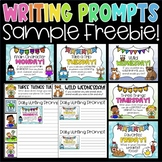 Daily Writing Prompts and Journals FREEBIE