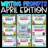 Daily Writing Prompts and Journals for April