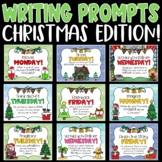 Daily Writing Prompts and Journals for Christmas