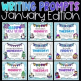 Daily Writing Prompts and Journals for January