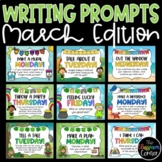 Daily Writing Prompts and Journals for March