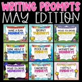 Daily Writing Prompts and Journals for May