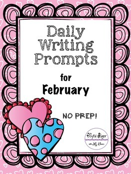 Daily Writing Prompts for February