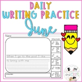 Daily Writing Prompts for Kindergarten and First Grade