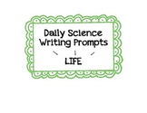 Daily Writing Prompts for the 5th grade Science Classroom