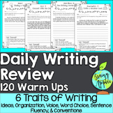 Daily Writing Review of the 6 Traits of Writing
