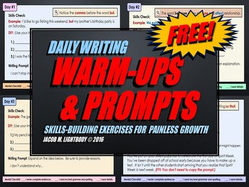 Daily Writing Warm-Ups & Prompts (For Journals and Notebooks)