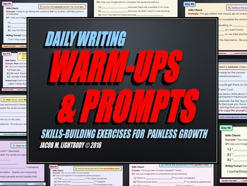 Daily Writing Warm-Ups & Prompts (Growing Bundle)