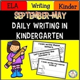Kindergarten Writing ~ Sept. – May