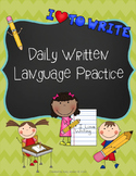 Daily Written Language Practice