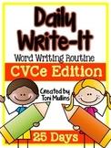 Daily Wrtie-It: Word Writing Routine w/ CVCe Words (Smartb