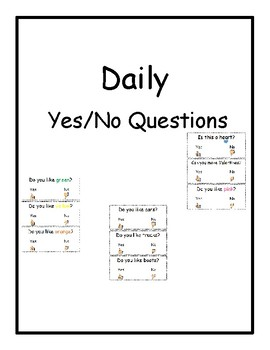 Daily Yes/No Questions