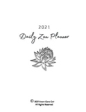 Daily Zen Planner 2021
