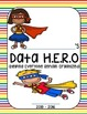Daily and Data H.E.R.O. Binder Cover (Super Hero theme) 20
