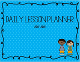 Daily and Monthly Lesson Plan Book