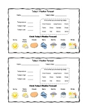 Daily and Monthly Weather Log Levels 1 & 2 BUNDLE