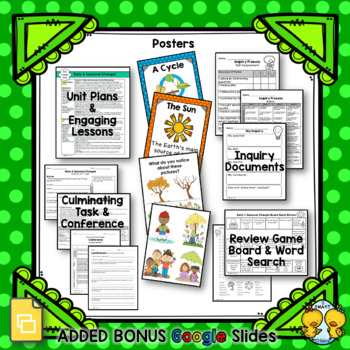 Daily and Seasonal Changes – Grade 1 Science Unit