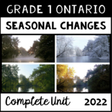 Daily and Seasonal Changes (Grade One Ontario Science)