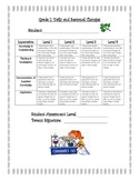 Daily and Seasonal Changes Rubric