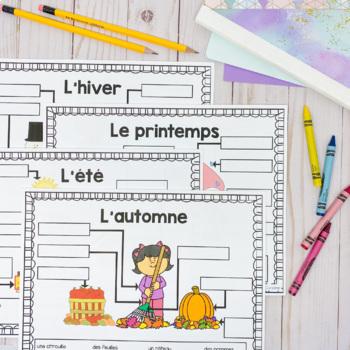 Grade 1 Daily and Seasonal Changes Unit / Le cycle des jours et saisons (French)