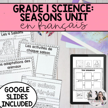 Grade 1 Daily and Seasonal Changes Unit / Le cycle des jou