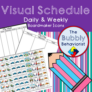 Daily and Weekly Visual Schedule