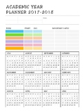 Daily and Weekly planner - additional information, Academi