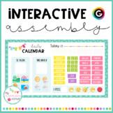 Daily calendar (Digital assembly) - GENIALLY