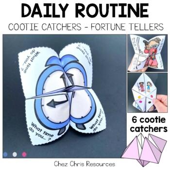 Cootie Catchers / Fortune Teller - Daily Routine