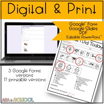 """Daily """"how I did"""" and home communication"""