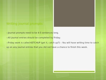 Daily journal writing prompts