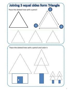 Daily life for Kintergarten - Basic Shapes (Book 2)