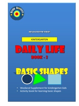 Daily life for Kintergarten - Basic Shapes (Book 2)