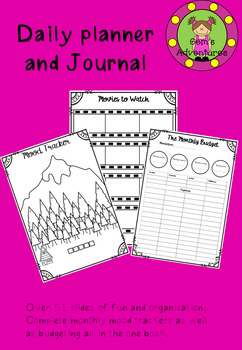 Daily planner and Journal
