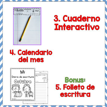 Daily quick writing prompts in Spanish/Escritura diaria/Creative writing in Spa