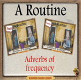 Daily routine – Adverbs of frequency  ESL adult business English power point
