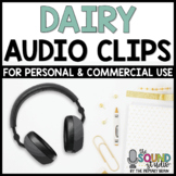 Dairy Audio Clips | Sound Files for Digital Resources