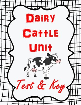 Dairy Cattle Unit Test