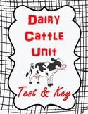 Dairy Cattle Unit Test & Key