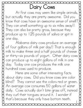 Dairy Cows Non-Fiction