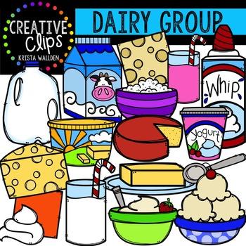 Dairy {Creative Clips Digital Clipart}