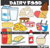 Dairy Food Clipart