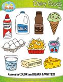 Dairy Foods Clipart {Zip-A-Dee-Doo-Dah Designs}