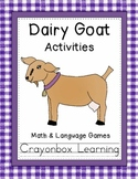 Farm Learning Centers - Dairy Goat Activity Pack - Word Wall