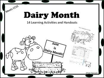 Dairy Month (June) Activities and Handouts