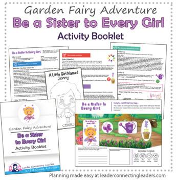 Daisy Be A Sister To Every Girl Petal Fairy Activity Booklet