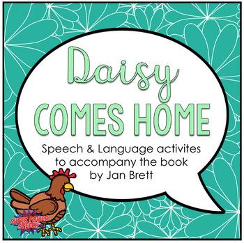 Daisy Comes Home (Speech Therapy Book Companion)