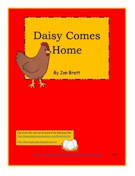 Daisy Comes Home by Jan Brett reading unit